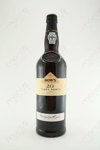 Dow's Tawny Porto Aged 20 Years 750ml