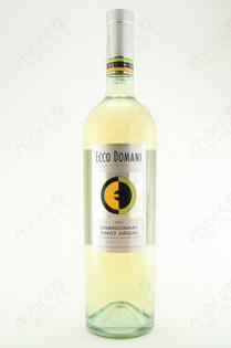 Ecco Domani Chardonnay Pinot Grigio delle Venezie 750ml