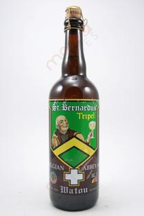 St. Bernardus Tripel Belgium Ale 750ml