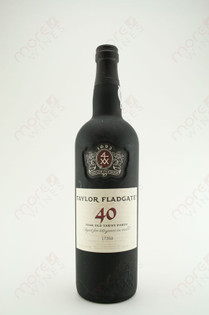Taylor Fladgate 40 Year Old Tawny Porto 750ml