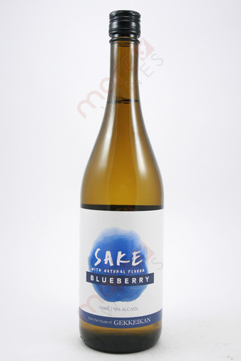 Gekkeikan Blueberry Sake 750ml
