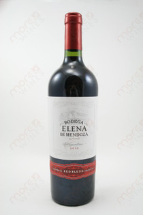 Bodega Elena De Mendoza Red Blend 2010 750ml