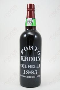 Porto Krohn Colheita 1965 750ml