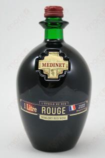 Medinet Rouge Semi-Dry Red Wine 1L