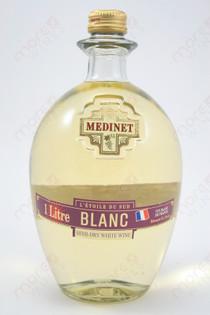 Medinet Blanc Semi-Dry White Wine 1L