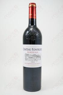 Chateau Fonfroide Bordeaux Red Wine 2010 750ml