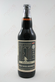 Great Divide Brewing Oak Aged Yeti Imperial Stout