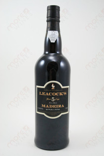 Leacock's 5 Year Old Madeira 750ml