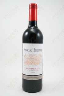 Fonreau Bellevue Bordeaux 2010 750ml