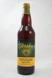 Aftershock Faultline Imperial IPA 22fl oz