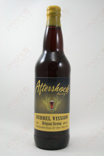 Aftershock Dubbel Vission Belgian Strong 22fl oz