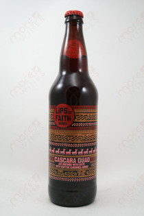 New Belgium Lips of Faith Cascara Quad Ale 22fl oz