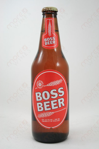 Boss Beer 16.9fl oz