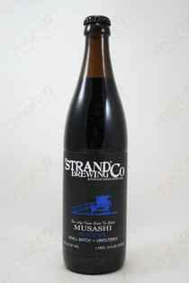 Strand Brewing Co. Musashi Black IPA 16.9fl oz