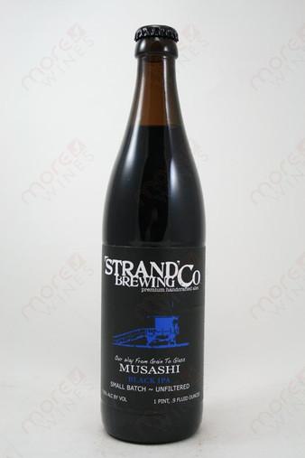Strand Brewing Co. Musashi Black IPA 16.9fl oz