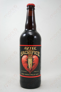 Aztec Sacrifice Red IPA 22fl oz