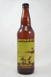 Surf Brewery Mondo's Cream Ale 22fl oz