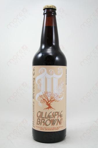 Manzanita Brewing Gillespie Brown Ale 22fl oz