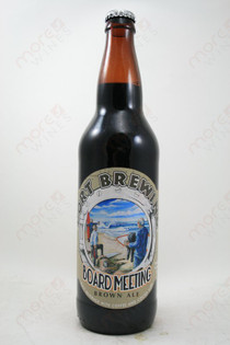 Port Brewing Board Meeting Brown Ale 22fl oz