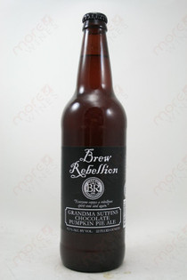 Brew Rebellion Chocolate Pumpkin Pie Ale 22fl oz