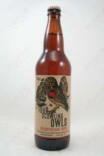 Karl Strauss Four Scowing Owls Holiday Belgian Triple 22fl oz