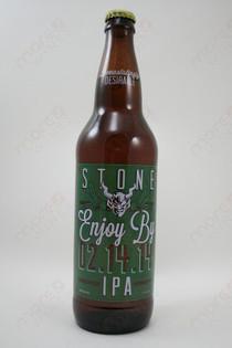Stone Brewing Enjoy By 02/14/14 IPA 22fl oz