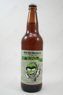 Knee Deep Brewing Hoptologist Double IPA 22fl oz