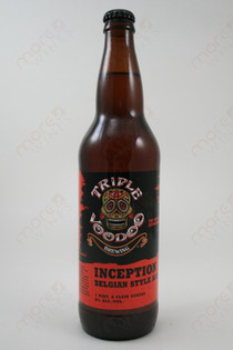 Triple Voodoo Brewing Inception Belgian Style Ale 22fl oz