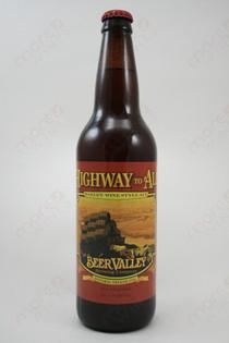Beer Valley Highway to Ale Barleywine Style Ale 22fl oz