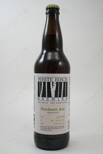 White Birch Brewing Hooksett Ale 22fl oz