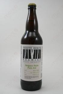 White Birch Brewing Belgian Style Pale Ale 22fl oz
