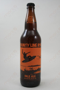 Surf Brewery County Line Rye Pale Ale 22fl oz