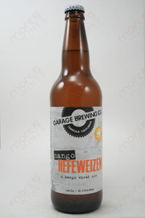 Garage Brewing Co Mango Hefeweizen  22fl oz
