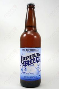 Knee Deep Brewing Lupulin River Imperial Ale 22fl oz