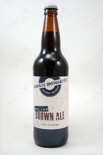 Garage Brewing Co Coffee Brown Ale 22fl oz