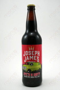 Joseph James Brewing Rye'd n Dirty Black Rye IPA 22fl oz