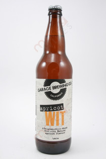 Garage Brewing Co Apricot WIT 22fl oz