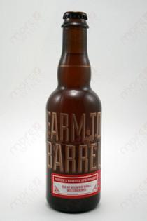 Almanac Farm To Barrel Sour Strawberry Ale 375ml