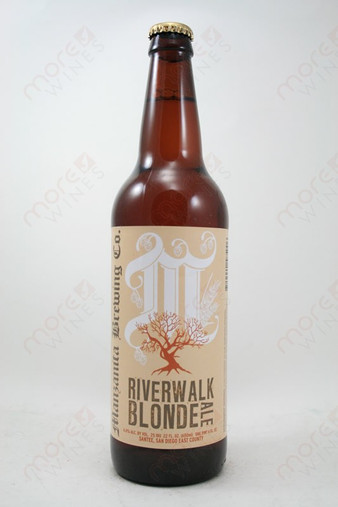 Manzanita Brewing Riverwalk Blonde Ale 22fl oz