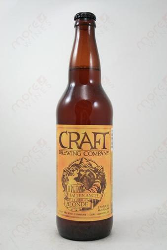Craft Brewing Fallen Angel Blonde 22fl oz