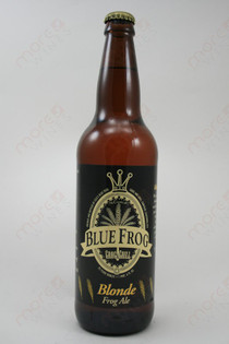 Blue Frog Blonde Ale 22fl oz