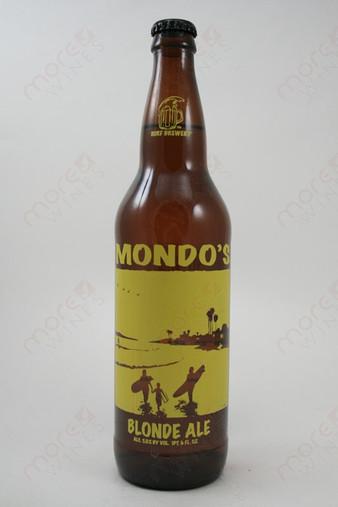 Surf Brewery Mondo's Blonde Ale 22fl oz
