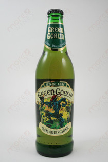 Green Goblin Oak Aged Cider 16.9fl oz