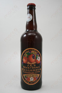 J.K.'s Northern Neighbour Farmhouse Cider 22fl oz