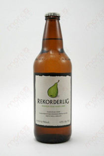 Rekorderlig Premium Pear Hard Cider 500ml.
