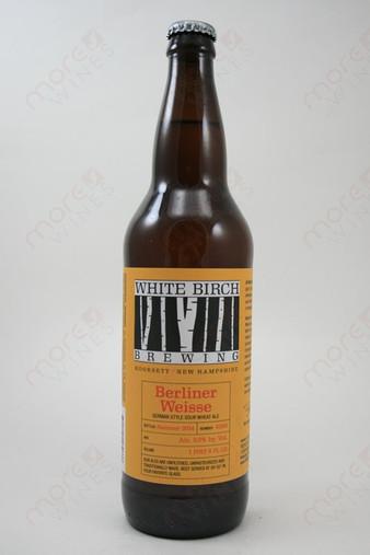 White Birch Brewing Berliner Weisse 22fl oz
