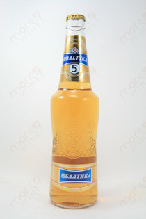 Baltika 5 Golden Lager 16.9fl oz