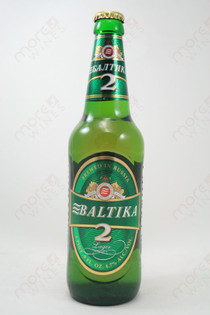 Baltika 2 Lager 16.9fl oz