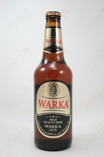Warka Quality Beer 16.9fl oz