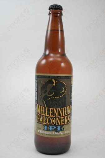 Wiens Brewing Millennium Falconer's IPL 22fl oz
